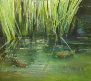 Pond and Grasses